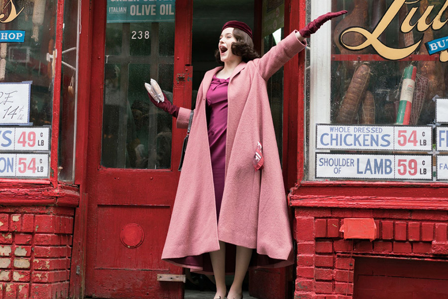 Komedi ve Nostaljiyi Birlikte Sunan Dizi: The Marvelous Mrs. Maisel