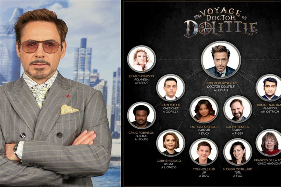 Robert Downey JR.'lı Dolittle Filminden Yeni Afiş!